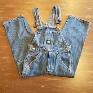 John Deere Kid's Jean Overalls Size 6 regular